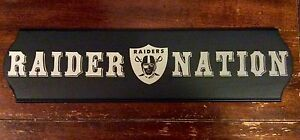 Raider Nation wall sign!