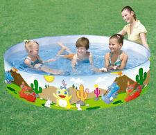"Splash & Play 72""x15"" BESTWAY Swimming Pool Dinosaurs"