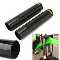 Carbon Fiber Shock Fork Absorption Protect for KTM YAMAHA HONDA KAWASAKI Dirt