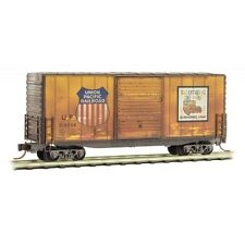 Union Pacific 40' Hy-Cube Box Car Weathered Micro-Trains MTL #101 44 040 N Scale
