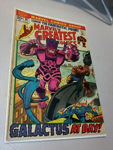 Marvel's Greatest Comics #36 Reprints Fantastic Four 49 Galactus! Silver Surfer