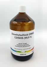 1000 ml DMSO Dimethylsulfoxid 99,9% in Braunglasflasche, laborrein