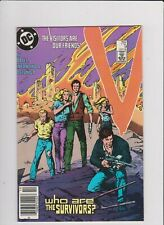 V #9 DC 1985 THE VISITORS ARE OUR FRIENDS FN-  COMBINE SHIPPING