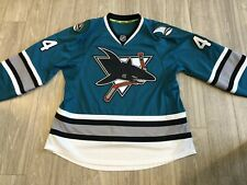 San Jose Sharks authentic heritage jersey - size 54 - signed by Vlasic