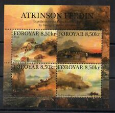 Stamps - Faroe Islands - M/S - 2015 - Atkinson Ferdin - Expedition - Faroes -