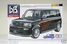 Tamiya 24224 1/24 Scale JDM Toyota bB NCP3 Mini MPV Flame Graphic Decal Model JP