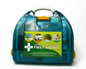 Emergency First Aid Kit - Workplace Home And Travel Wall Mountable Durable Case