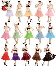 Hell Bunny 50s Petticoat Long Rockabilly 1950s Jive Swing Vintage Style