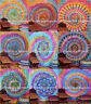 Tie Dye Mandala Wall Hanging Ethnic Spiral Tapestry Bohemian Hippie Wall Decor