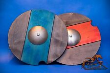 """GREAT  """"KNIGHT'S SHIELD"""" CHILDREN KIDS ADULT HAND CRAFTED WOODEN TOY!!!"""