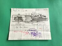 William Morier Glasgow 1905 Machinery Brushes receipt R36677
