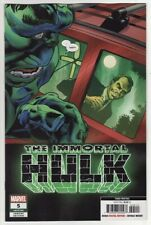 THE IMMORTAL HULK #5 Marvel Comics 3RD PRINTING VARIANT COVER! Incredible Savage