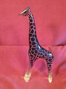 "Abraham Palatnik Lucite 12"" Giraffe MCM Brazil Vintage Mid Century Modern Statue"