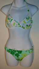Verdissima Bikini Set 34D Underwired Top and Medium Brief Green RRP £72