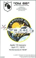 """Starfighter Decals 1/48 SIKORSKY SEA KING """"OLD 66"""" Apollo 13 Recovery Helicopter"""
