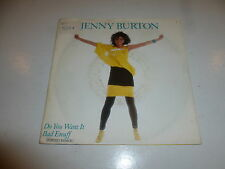 "JENNY BURTON - Do you want it - 1986 UK 2-track 7"" Vinyl Single"