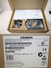 SIEMENS Micromaster 6SE6400-0MD00-0AA0 ORDER 6SE6400-5KC00-1AP0