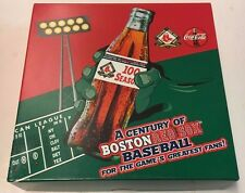 2001 Coca Cola Boston Red Sox 100th Anniversary Pin Collection SGA