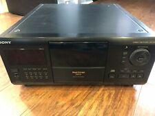 Sony CDP-CX270 200-CD Mega Storage Carousel Compact Disc Changer Jukebox