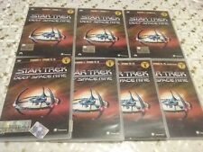 lotto 7 dvd italiano STAR TREK:Deep Space Nine-stagione 4 quattro completa ott.