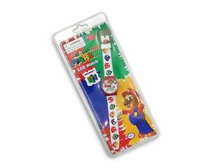 Vintage Super Mario 64 Watch 90s Nintendo 64 Deadstock RARE