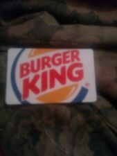 Burger King * Used Collectible Gift Card NO VALUE * C2