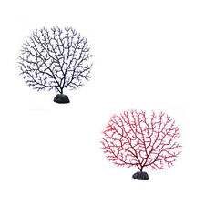 5PCS Artificial Coral Tree Hseudo Hydrophyllum Decorated Fish Water Grass