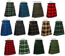 Men's 5 Yard Scottish Kilts Tartan Kilt 13oz Highland Casual Kilt