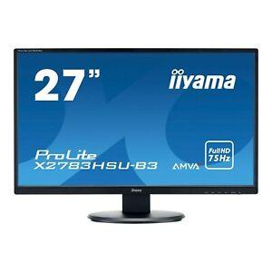 "iiyama ProLite X2783HSU-B3 27"" Full HD Monitor"