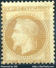 FRANCE EMPIRE N° 28A NEUF * AVEC CHARNIERE COTE 700€ A VOIR