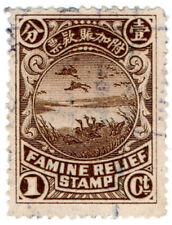 (I.B) China Cinderella : Famine Relief 1c