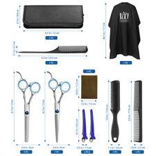 10pcs/set Professional Hair Cutting Thinning Scissor Barber Shears Hairdressing
