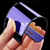 Blue 3D Curved Full Cover Tempered Glass Screen Protector For iPhone 6s /7 Plus