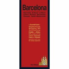 Red Maps Barcelona CURRENT EDITION - City Travel Guide