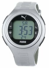New PUMA Heart Rate Monitor HRM Watch PULSE Silver New