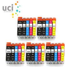 25 XL Ink Cartridges for Canon Pixma IX6850 MG5550 MG6650 MG7550 MX925 MX725