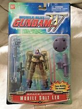 "BANDAI~Mobile Suit Gundam Wing~SPACE MODE MOBILE SUIT LEO~4.5"" Figure"