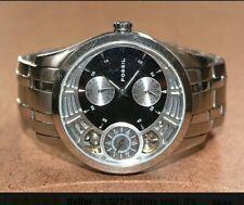 Fossil Herren Designer Uhr Chronograph Silber Top Style Edelstahl Armband  Top