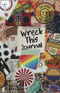 Wreck This Journal - Challenging Tasks To Complete For Teenagers - Paperback