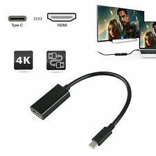 USB Type C to Female HDMI HDTV Cable Adapter for PC Macbook Samsung Galaxy S8 S9