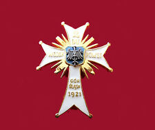 2nd Battalion of Sielesian Insurgent. Beautiful Badge Cross polish uprising army