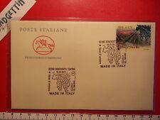 Busta FDC 18.10.2013 Benevento MADE IN ITALY AGLIANICO DEL TABURNO