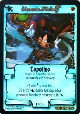 WIZARDS OF MICKEY Topolino 2/115 IL TORNEO FOIL RARE ITA NEAR MINT