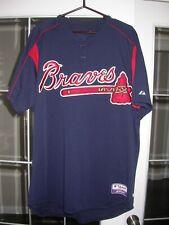 Atlanta Braves Kent Mercker 2003 Game Used/Worn Warm-Up MLB Baseball Jersey