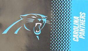 NFL Carolina Panthers Large Flag Fade New Boxed 150x90cm Football