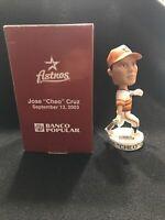 Rare 2003 SGA Houston Astros JOSE CRUZ Rainbow Uniform Bobblehead