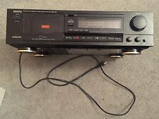 Denon DRM-400 precision audio component stereo cassette tape deck dolby B-C NR