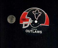 vintage Arizona Outlaws USFL football  button pinback badge