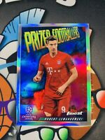2019-20 Topps Finest UEFA Robert Lewandowski Prized Fusion Champions League