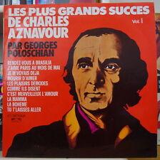 POLOSCHIAN/JACQUES DENJEAN LES PLUS GRANDS SUCCES D'AZNAVOUR FRENCH LP